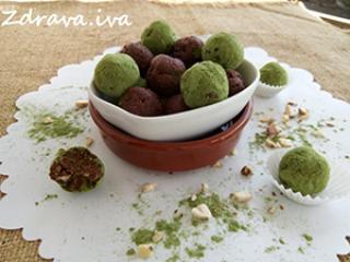 Slatke zelene kuglice