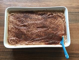 Čokoladni lešnikov puding