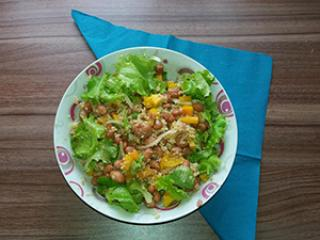 Salata s prosenom kašom