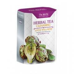 Zeliščni čaj za čiščenje jeter