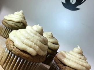 Bananini muffini z arašidovim maslom