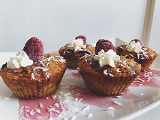 Muffini z goji jagodami