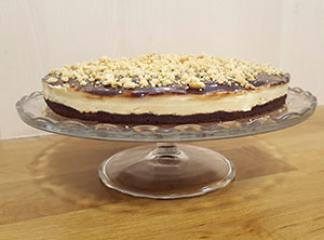 Čokoladno arašidova torta