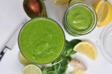 Zeleni LCHF smoothie