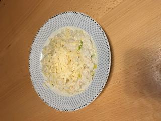 Riž brez kalorij s tunino omako