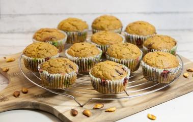 Schokoladen-Kürbis-Muffins