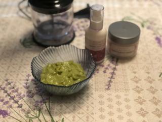 Avocado Maske für gesunde und glänzende Haut