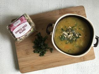 Domača bučna juha s korenčkom