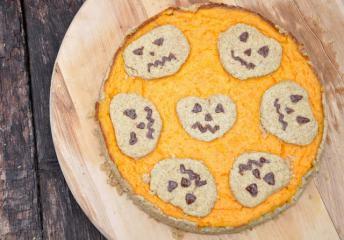 Kürbis-Orangen-Kuchen zu Halloween