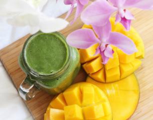 Matcha zeleni smoothie