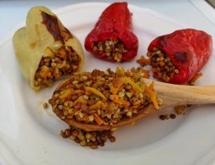 Filane paprike v pečici