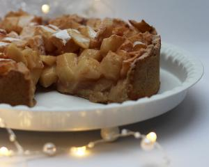 Apfelkuchen mit Weihnachtsduft