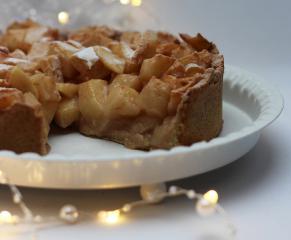 Jabučna pita s mirisom božića