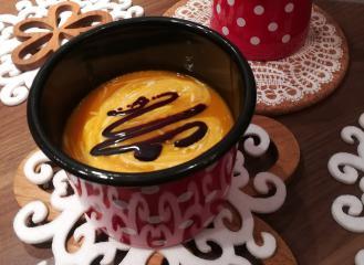 Bučna juha iz pečice