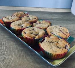 Muffins mit Obst