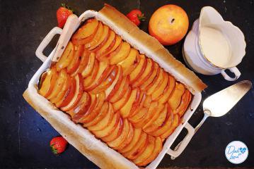 Hirsebrei mit Äpfeln und Quark