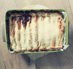 Überbackene Quarkpfannkuchen