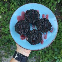 Spirulinini muffini