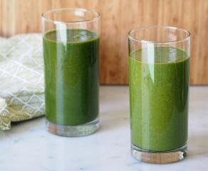 Zelen zimski smoothie
