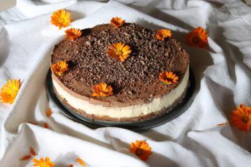 LCHF čokoladno - vanilijeva torta