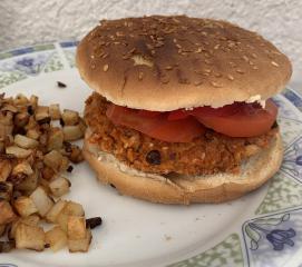 Veganski polpet za burger