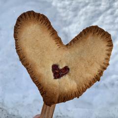 Valentinovi srčki na palčki