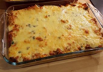 Zapečena tjestenina s mljevenim mesom