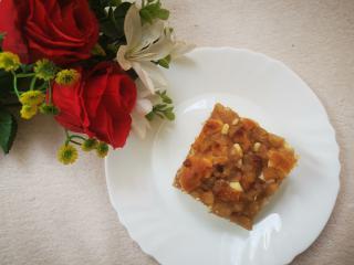 Jabolčno orehovo pecivo