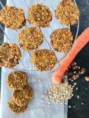 Veganski korenčkovi piškoti