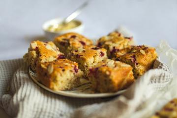 Himbeer-Zitronenkuchen