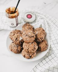 Vegane Schoko-Nuss Kekse