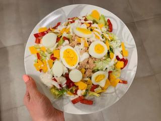 Thunfischsalat mit Ei