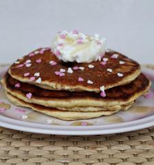 Amerikanische Pancakes mit Mandelmehl