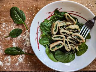 Gnocchi mit Spinatfüllung
