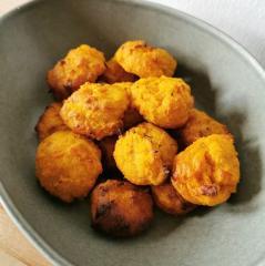 Kugeln aus Süßkartoffeln