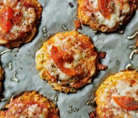 Mini-Blumenkohlpizzas