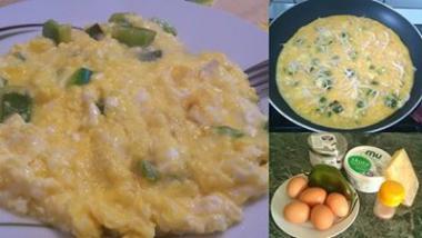 Jajčna omleta za aktivne