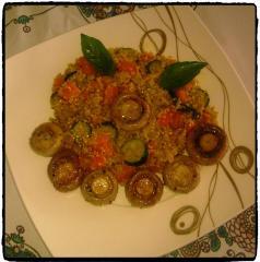 Kvinoja z zelenjavo