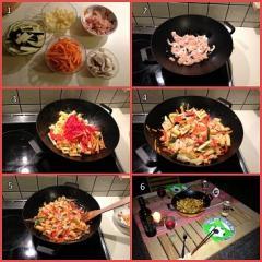 Piletina s povrčem na kineskom