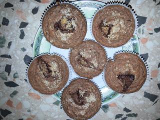Ajdovi muffini z jabolki