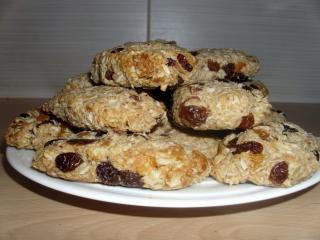 Žitne ploščice iz ovsenih kosmičev in kokosa