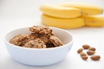Zdravi piškoti iz treh sestavin z banano