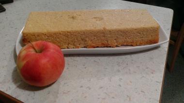 Pečena prosena kaša z jabolki
