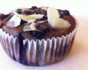 Borovničevi - bananini muffini