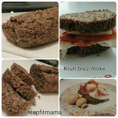 Kruh brez moke in glutena