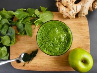 Zelen čistilec telesa