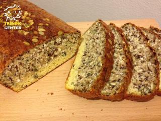 Zdrav domači kruh brez glutena