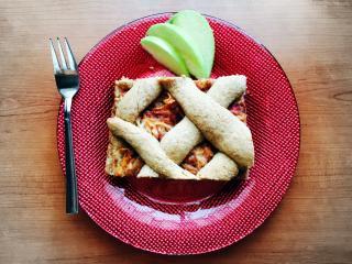 Zdrava domača jabolčna pita