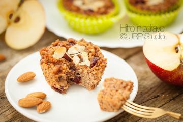 Veganski in brezglutenski jabolčni kolački