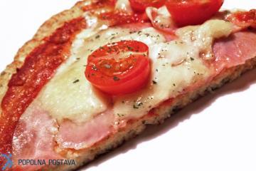 Nizkokalorična FIT pica – brez glutena